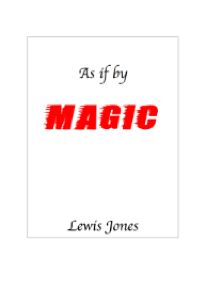Cover of Lewis Jones's book As if by Magic